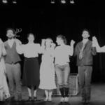 Elèves des cours de théâtre Lizart à Paris