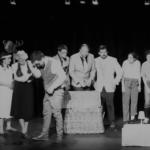 Répétition finale du spectacle de fin d'année des cours de théâtre à Paris
