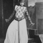 Sarah Bernhardt sur scène