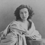 Sarah Bernhardt étudiée dans les cours de théâtre à Paris