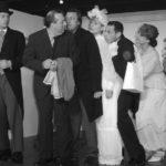 répétition du spectacle d'un cours de théâtre débutant