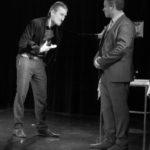 scène travaillée entre deux comédiens des cours de théâtre lizart