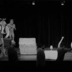 répétition générale à Paris du cours de théâtre des élèves des cours Lizart